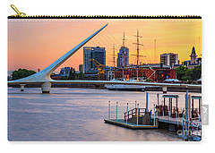 Carry-all Pouch featuring the photograph Buenos Aires 0034 by Bernardo Galmarini