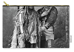Buffalo Bill Cody And Chief Sitting Bull C. 1890 Carry-all Pouch