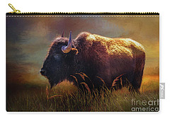 Buffalo Cow Carry-all Pouch