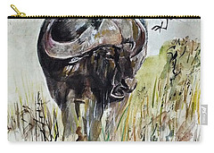 Buffalo Carry-all Pouch by Khalid Saeed
