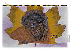 Buffalo Profile Carry-all Pouch by Ralph Root