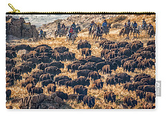 Buffalo Roundup Carry-all Pouch