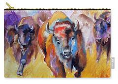 Buffalo Run 16 Carry-all Pouch by Marcia Baldwin