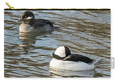 Bufflehead Pair Swimming Carry-all Pouch