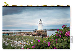 Bug Light Blooms Carry-all Pouch