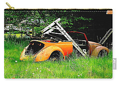 Carry-all Pouch featuring the photograph Bugsy by Sadie Reneau