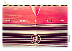 Buick Retro Carry-all Pouch by Caitlyn Grasso