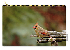 Carry-all Pouch featuring the photograph Building A Home by Debbie Oppermann