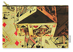 Carry-all Pouch featuring the photograph Building Bets And Stacking Odds by Jorgo Photography - Wall Art Gallery