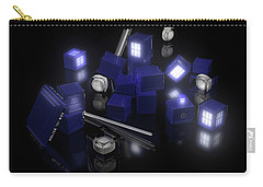 Building Blocks Of Space Time Travel Carry-all Pouch