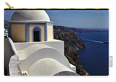 Building In Fira Carry-all Pouch