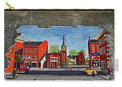 Building Mural - Cuba New York 001 Carry-all Pouch by George Bostian
