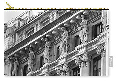 Carry-all Pouch featuring the photograph Building by Silvia Bruno