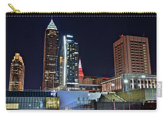 Carry-all Pouch featuring the photograph Buildings New And Old by Frozen in Time Fine Art Photography