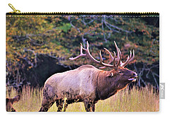 Bull Calling His Herd Carry-all Pouch