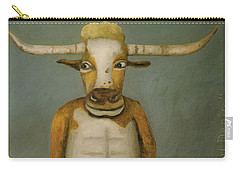 Bull Denim Carry-all Pouch by Leah Saulnier The Painting Maniac