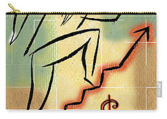 Carry-all Pouch featuring the painting Bull Market by Leon Zernitsky