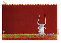 Bull Of It Carry-all Pouch by Aliceann Carlton
