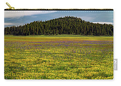 Carry-all Pouch featuring the photograph Bull Prairie by Leland D Howard
