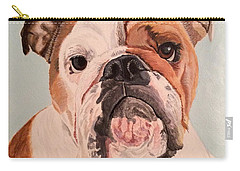 Bulldog Beauty Carry-all Pouch