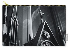 Carry-all Pouch featuring the photograph Bullet Church by Lora Lee Chapman