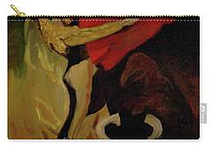 Bullfighter By Mary Krupa Carry-all Pouch by Bernadette Krupa