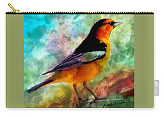 Bullock's Oriole Mountain Birds Carry-all Pouch