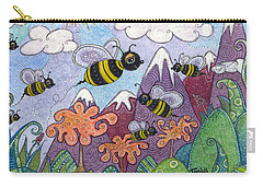 Bumble Bee Buzz Carry-all Pouch
