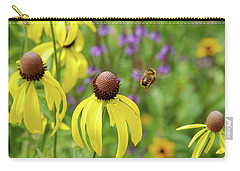 Bumble Bee Heaven Carry-all Pouch by Janice Adomeit