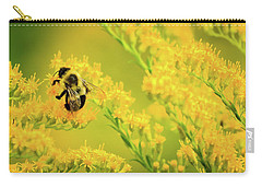 Bumble Bee On Goldenrod Carry-all Pouch