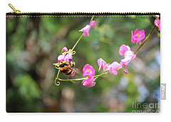 Carry-all Pouch featuring the photograph Bumble Bee1 by Megan Dirsa-DuBois