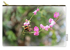Carry-all Pouch featuring the photograph Bumble Bee2 by Megan Dirsa-DuBois