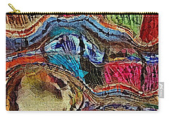 Carry-all Pouch featuring the photograph Bumps In The Road by Kathie Chicoine
