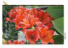 Bunch Of Lilies Carry-all Pouch by Catherine Gagne