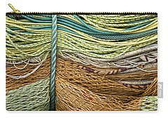 Bundle Of Fishing Nets And Ropes Carry-all Pouch