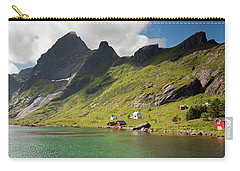 Bunesfjord And Mountains Carry-all Pouch by Aivar Mikko