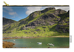 Bunesfjord With Boats Carry-all Pouch by Aivar Mikko