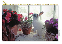 Bunny In Window Carry-all Pouch