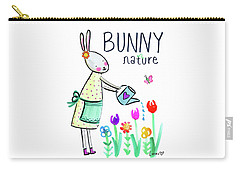 Bunny Nature Carry-all Pouch