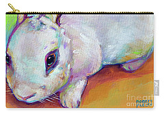 Bunny Carry-all Pouch by Robert Phelps