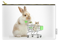 Bunny Shopping Carry-all Pouch