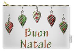 Buon Natale Italian Merry Christmas Carry-all Pouch