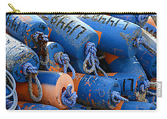 Buoy Colors Carry-all Pouch by Fraida Gutovich