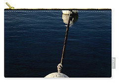 Carry-all Pouch featuring the photograph Buoy Descending by Stephen Mitchell
