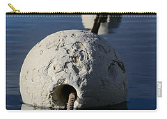 Carry-all Pouch featuring the photograph Buoy In Detail by Stephen Mitchell