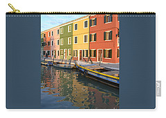 Carry-all Pouch featuring the photograph Burano Italy 1 by Rebecca Margraf