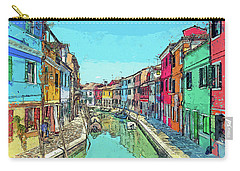 Burano Sketch Carry-all Pouch