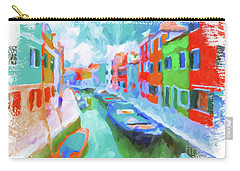 Burano, Venice, Italy Carry-all Pouch