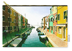 Burano Venice Carry-all Pouch