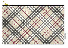 Burberry Pattern Carry-all Pouch